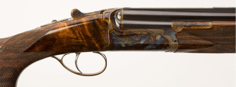 Boxall-and-Edmiston-12-bore-over-and-under-colour-hardened-shotgun-for-slider-on-website